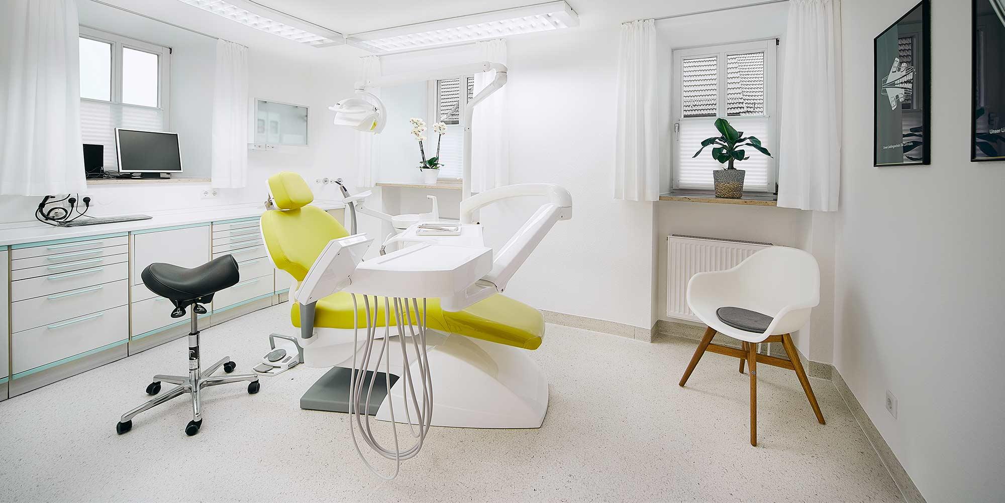 Zahnarzt Praxis Neubrunn Ausstattung